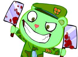 Happy Tree Friends wallpaper probably containing anime called flippy
