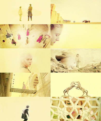 game of thrones | yellow →