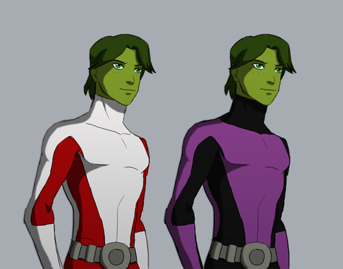 in young justice wallpaper with anime entitled guardianwolf216: Beast Boy Grown-Up