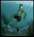 guardianwolf216: Lagoon Boy