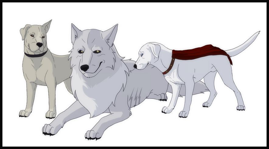 guardianwolf216: Young Justice Doggies