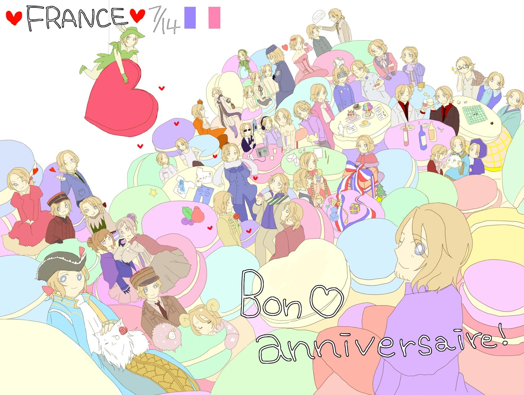 happy birthday - Hetalia France Photo (31472095) - Fanpop