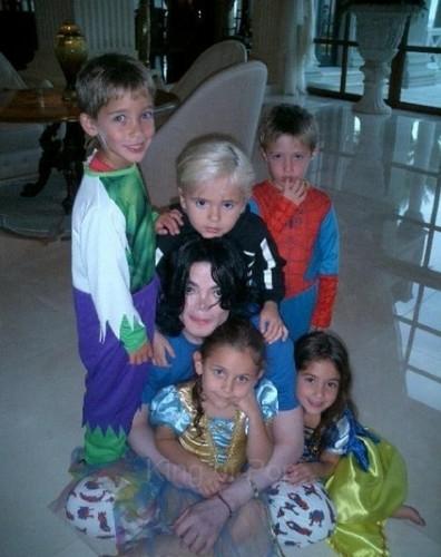 ♥jarod malnik prince jackson, michael jackson, paris jackson, nathan malnik and spencer malnik♥
