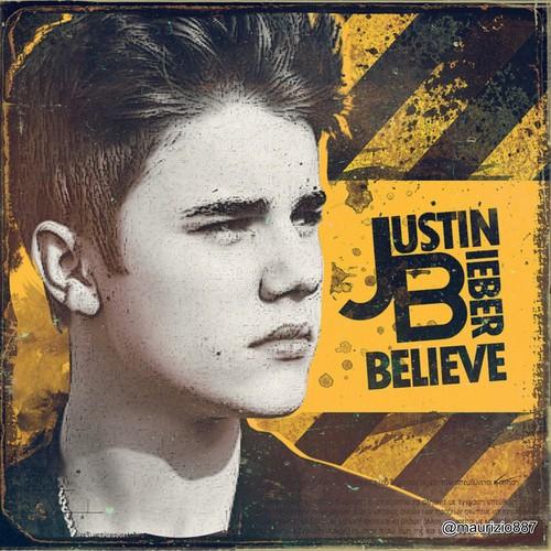 Justin Bieber karatasi la kupamba ukuta containing anime called justin bieber,believe, 2012