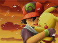 pikachu and ash - cutest-pokemon photo