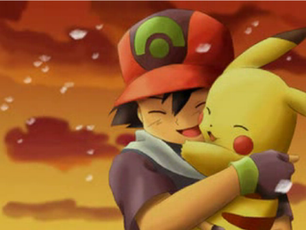 pikachu and ash - cutest-pokemon PhotoPokemon Pikachu And Ash
