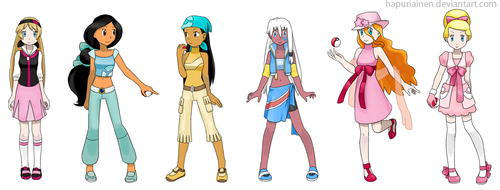 pokemon princesses 1