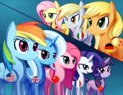 My Little ngựa con, ngựa, pony - Friendship is Magic hình nền with anime titled ngựa con, ngựa, pony power!!