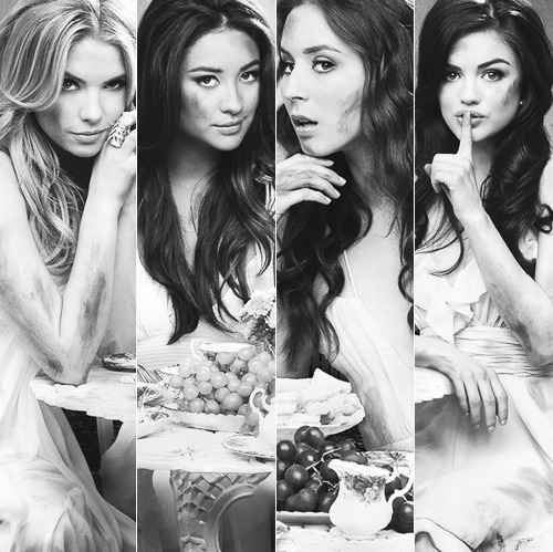 pretty little liars black white