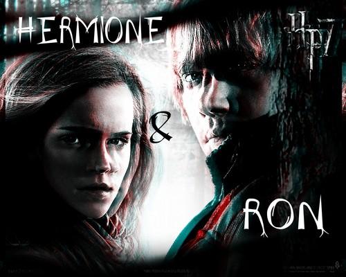 ron & hermione <3