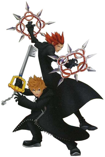 roxas and axel