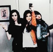 sel and miley and demi