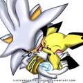 silver and pichu cute!!!