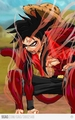 ss4 guffy (goku +luffy) - anime fan art
