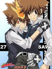 yaoi. yaoi of tsuna . Wallpaper and background images in the katekyo ...