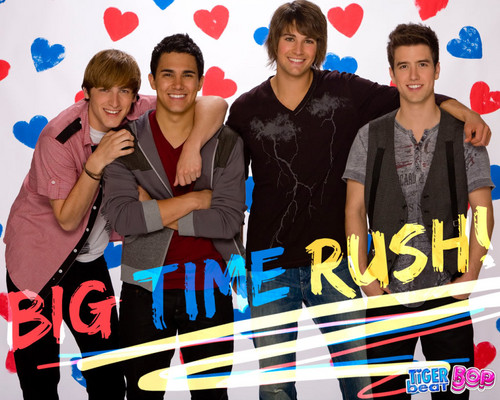 Rakshasa & friends wallpaper possibly with a sign entitled ♥ Big Time Rush ♥