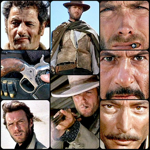 ☆ Clint Eastwood in The Good, The Bad, & the Ugly ☆