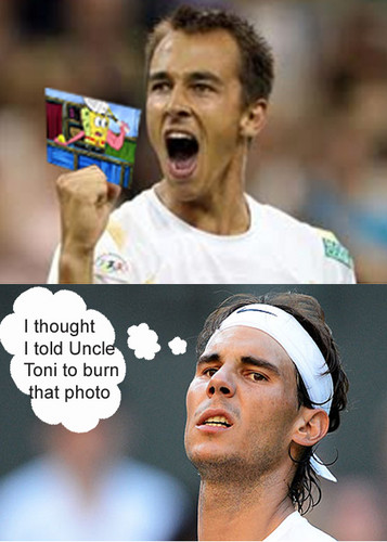 How Nadal Lost to Rosol.. - rafael-nadal Fan Art