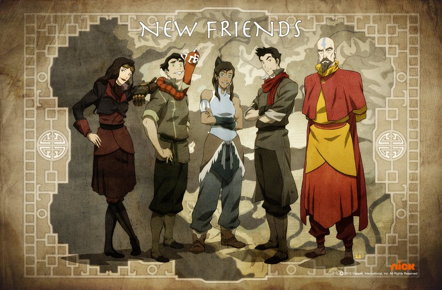 New Friends&quot; - Legend of Korra - Avatar: The Legend of Korra Photo ...
