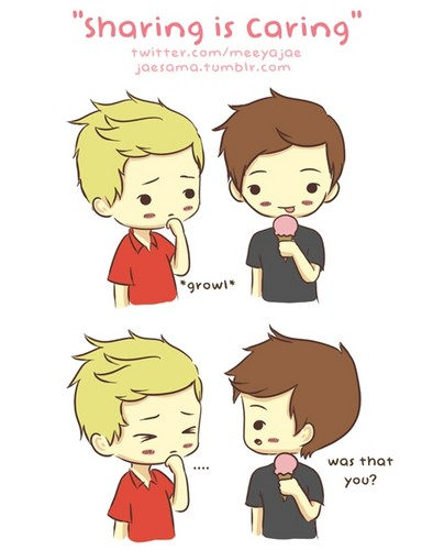 One Direction پیپر وال possibly containing عملی حکمت titled ♥One Direction Cute Drawings♥