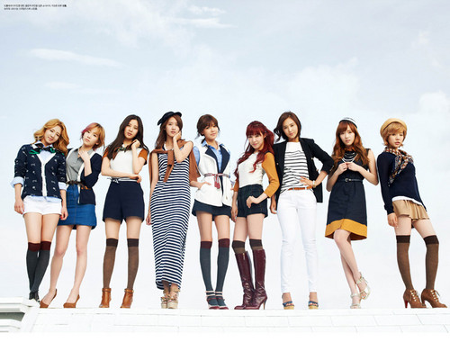 SNSD @ High Cut Magazine