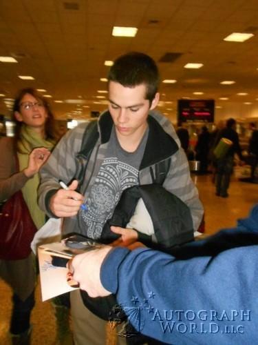 Signing Autographs at Sundance Film Festival