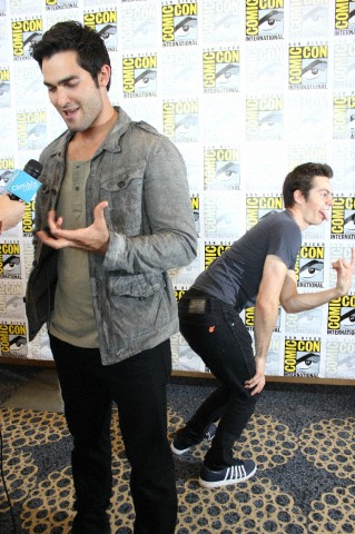 """Teen Wolf"" Press Room At Comic-Con"