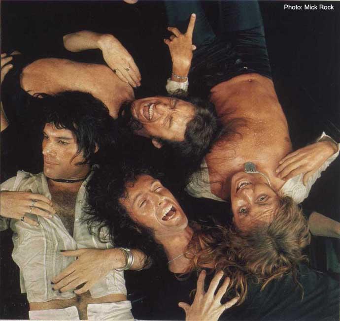 1974 Mick Rock - Sheer jantung Attack