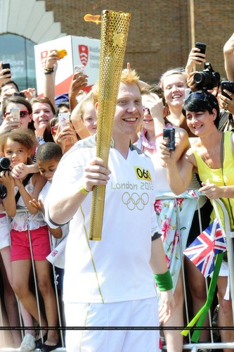 2012 Olympic Torch Relay in Londra - July,25
