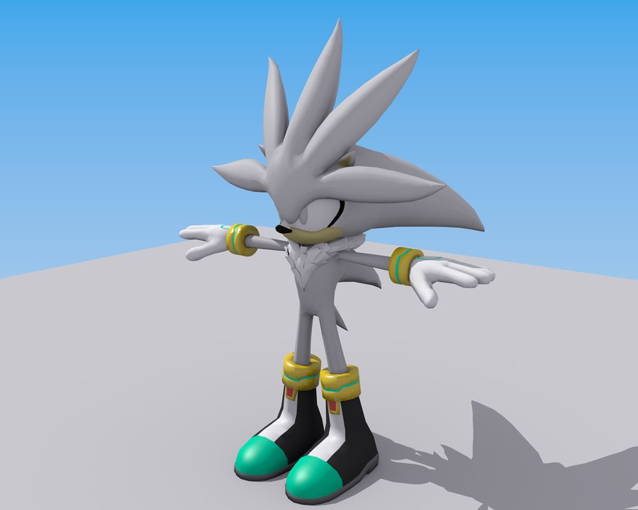 Characters Images Silver Pigstruction: 3D Sonic Characterz Images 3D Silver HD Wallpaper And