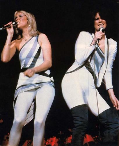 ABBA wallpaper containing a concert entitled ABBA