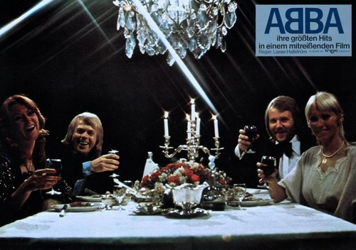 ABBA wallpaper containing a dinner table entitled ABBA