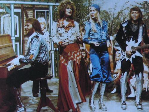 ABBA wallpaper titled ABBA