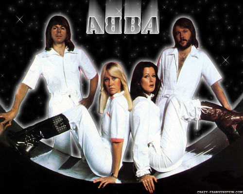 ABBA fond d'écran possibly containing a bathrobe, a well dressed person, and an outerwear called ABBA