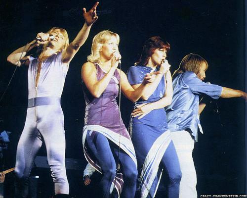 ABBA wallpaper probably containing a concert called ABBA