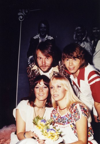 ABBA wallpaper containing a bridesmaid called ABBA