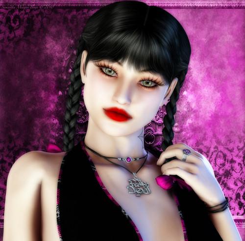 Abby Sciuto #2-Portrait