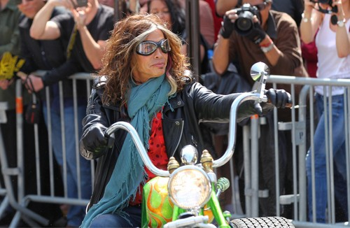 Aerosmith Global Warming tour press conference