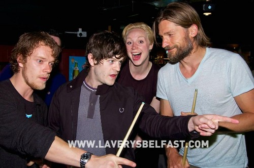 Alfie Allen, Iwan Rheon, Gwendoline Christie & Nikolaj Coster-Waldau - game-of-thrones Photo