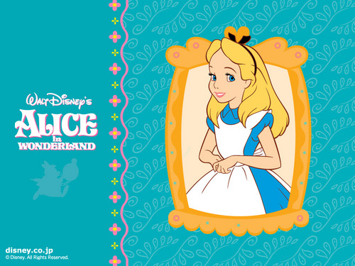 Disney images Alice in Wonderland Wallpaper HD wallpaper and background photos