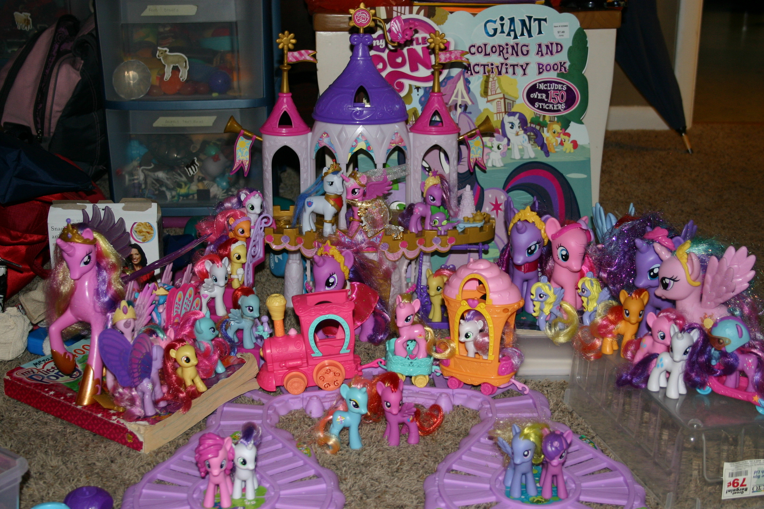 My Little Pony Friendship is Magic All My Pony Toys as of July 20