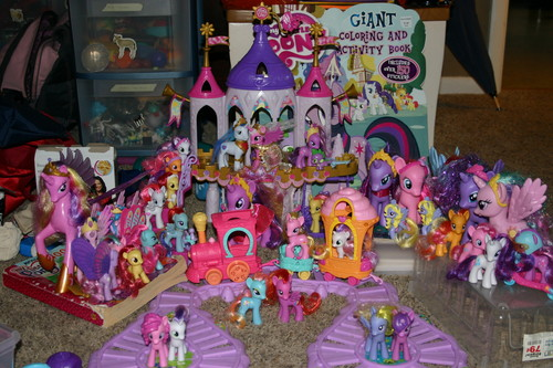 All My Pony Toys as of July 20, 2012 - my-little-pony-friendship-is-magic Photo