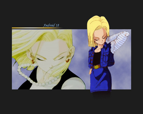 Android 18 (Wallpapers)