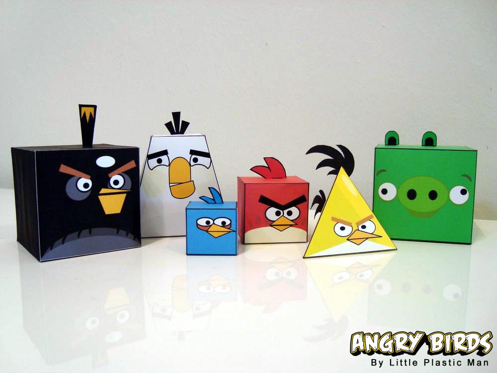 Angry Birds Angry Birds Orygamy
