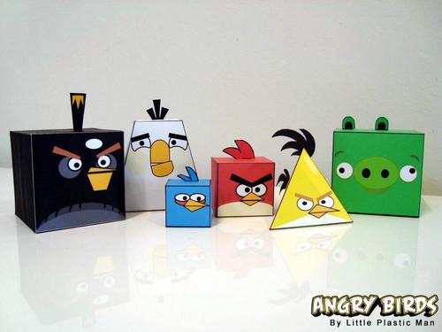 Angry Birds Orygamy