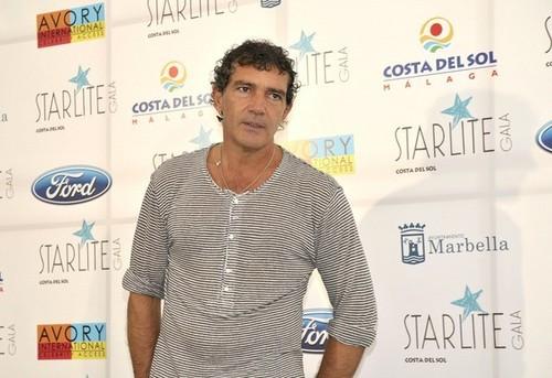 Antonio Banderas at the Starlight Gala [July 15, 2012]
