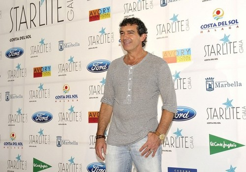 Antonio Banderas at the Starlight Gala [July 15, 2012]