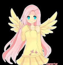 Ariana Cosplays as Fluttershy xD