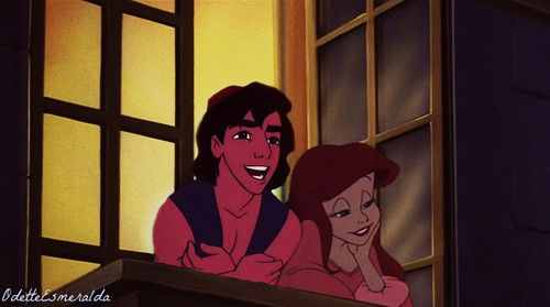 Ariel and Aladin