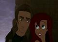Ariel comforts Jim
